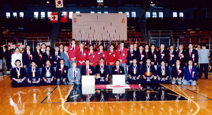 1991 Team Canada WKC in Toronto