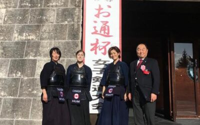 2019 Canadian Delegation to Otsuhai Women's Kendo Tournament