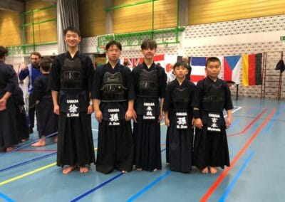 Junior Kendo Team Canada 2019