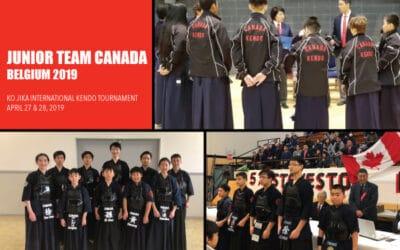 Junior Team Canada Prepares for Trip to Belgium