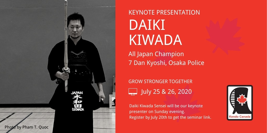 Daiki Kiwada - keynote presenter