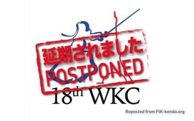 18th World Kendo Championships Postponed