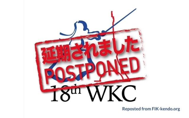 18th World Kendo Championships Postponed