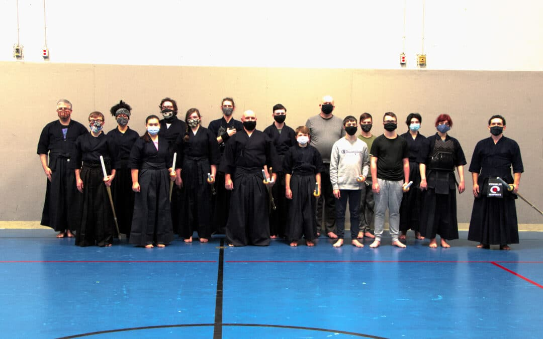 The Rock Kendo Club Thriving Despite COVID Restrictions